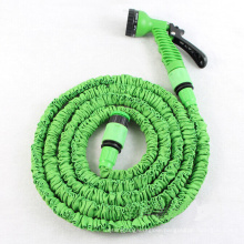 Top Quality Magic Pocket Hose, 25/50/75/100ft TPE Expandable Flexible Garden Wash Car X Hose Pipe with Spray Nozzle 7 Function Gun