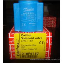 Bobina de válvula de solenóide de Danfoss (018F6757)