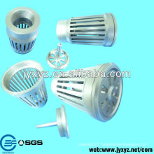 fashion oem precision led light housing parts