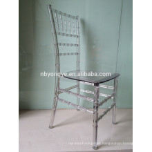 Plastic Pure Pc (polycarbonate) chiavari chair