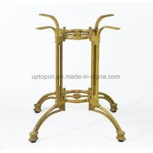 Antique Yellow Cast Iron Chair for Restaurant Furniture (SP-MTL256)