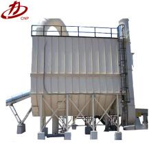 Forte poder de sucção coletor de pó de telha cerâmica bom uso pulso reciclagem de pó eletrônico separador de resíduos