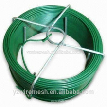 w--pvc coated tie wire/plastic coated twist tie wire