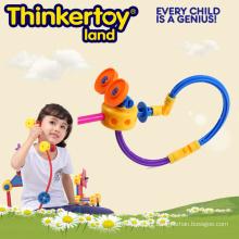 PVC de alta qualidade promocional 3D plástico montar brinquedo
