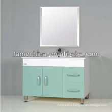 2013 Glass Doors White storage cabinet