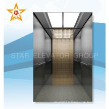 Fabricant chinois hôtel passager ascenseur de luxe décoration