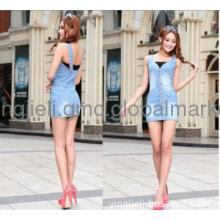 NWT DARLA DRESS MINI CORSET BUSTIER DENIM BLUE DRESSES
