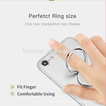 High quality Full metal mobile ring holder 360 mobile ring stand for cell phone