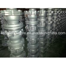 Фланцевый шаровой кран API 2PC с литой сталью
