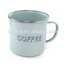 color customized enamel coating mugs