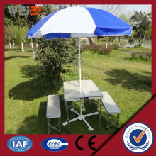 Outdoor Picnic White Plastic Outdoor Table And Chair