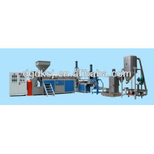 PP/PE/PD/PC plastic recycling granulating machine
