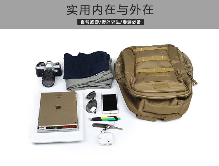 Assault Military Tactical Rucksack Backpack