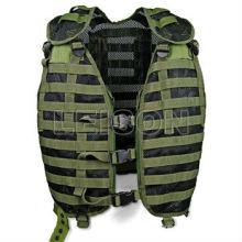 Exército de combate colete tático engrenagem verde colete ISO e padrão do GV