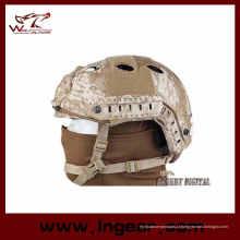Moda Fast Airsoft da Marinha Pj redondo buraco tático combate capacete