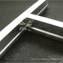 Barra de techo revestida de zinc galvanizado (32X24X3600, 38X24X3600mm)