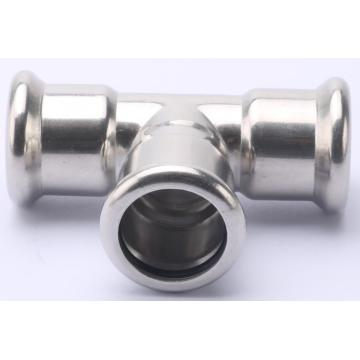 Stainless Steel Pipe Press Tee Fittings Exporter