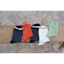 Novos estilos doce menina algodão meias laço cuff bom olhar queda temporada meias