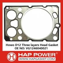 Howo D12 Head Gasket VG1246040021