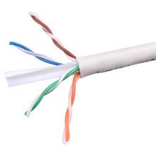 UTP CAT6 LSZH Kabel Fluke getestet Soild Bare Kupfer weiß