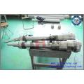 Machine à moulage par injection à double couleur Baril