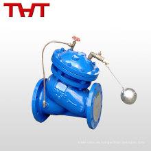 válvula de flotación hidráulica de control remoto de nivel de agua