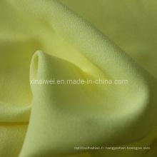 100% polyester imitation de lin pour vêtement