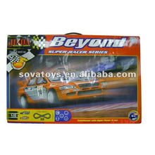 Battery Operated Track Rail Racing Car Toys