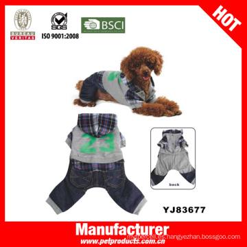 Dog Wear Ropa para mascotas, tela para la ropa del perro (YJ83677)