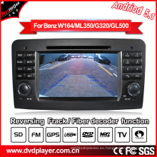 Android coche GPS Navigatior para Mercedes-Benz GL Ml clase DVD MP4 Player