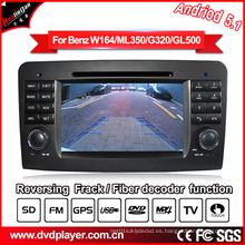 Android coche GPS Navigatior para Mercedes-Benz GL Ml clase DVD MP4 Player
