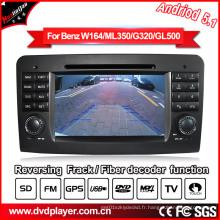 Android Car GPS Navigatior pour Mercedes-Benz Gl Ml Class DVD Lecteur MP4
