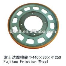 Roue à friction / roue de traction