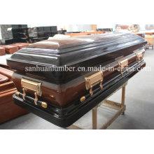 Caixão de madeira / exclusivo novo caixão de madeira & caixão / madeira caixão (WM02)