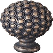 Remate de cabeça de Buda de resina