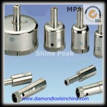 Galvanische Diamant-Bohrer für Glas und Keramik