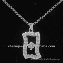 La plata caliente del regalo de Chrismas de la venta plateó el colgante PSS-009