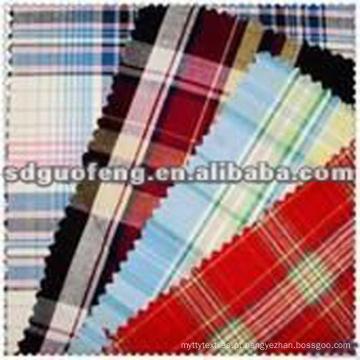 Preço barato100% algodão 40 * 42 impresso tecido de flanela macia têxtil 100% Algodão Fio Tingido de Pelúcia Tecido / Fio Flanela Tingida