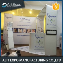 Foldable lightweight trade show expo display booth