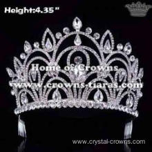 Unique Diamond Wedding Bridal Pageant Crowns With Combs