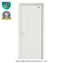 Porta de madeira moderna do estilo HDF para o interior (ds-105)