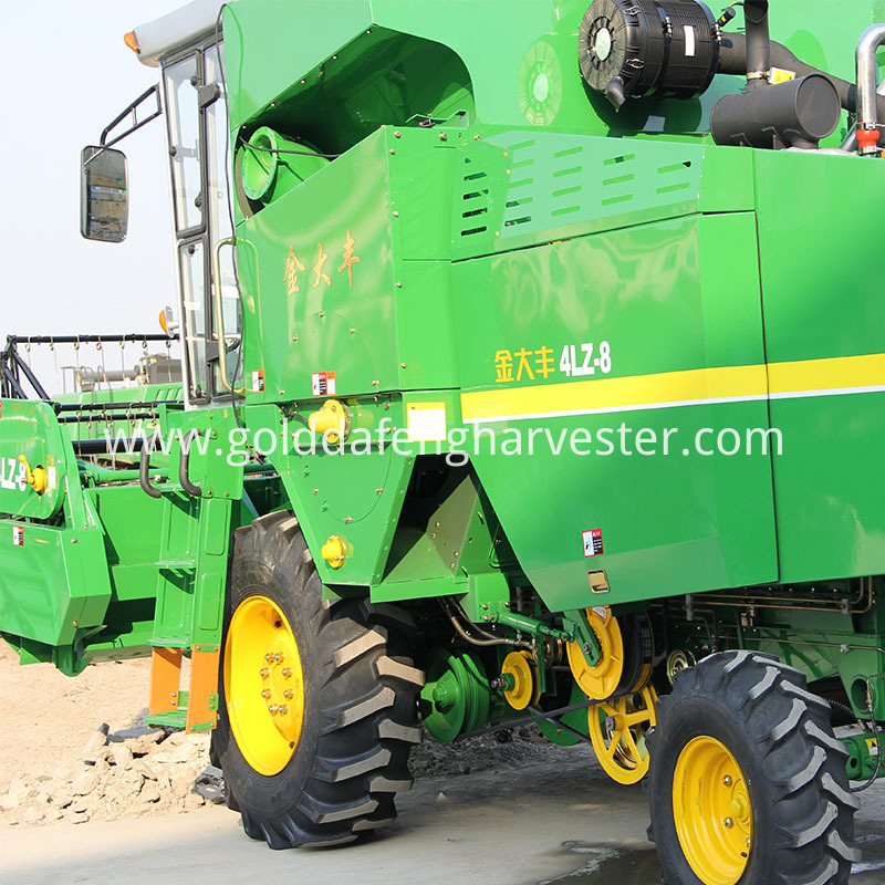 Self-propelled Full Feed Wheat Combine Harvester