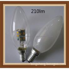 2.5W E27 C35 LED Torpedo Chandelier Bulb replace incandescent bulbs