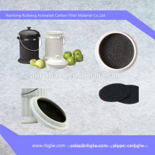 manufacturing all kinds activated carbon wine filter pad