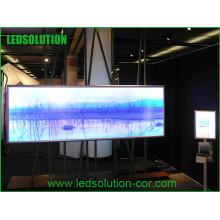 Cartelera LED a todo color de escenario interior