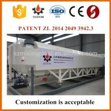 Silicone de cimento horizontal amigável com transportador de parafuso horizontal