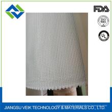 Rouleaux de fibre de verre texturisés tissés unis Tissu de fibre de verre