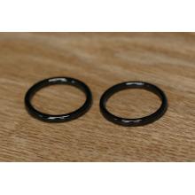 Moda material de metal O anel e anel decorativo para bolsa