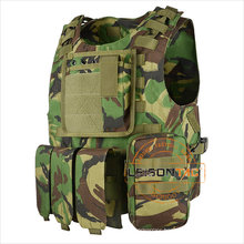 Nylon Army Military Plate Carrier Tactical Combat Vest for tactical security outdoor sports hunting Protect Body