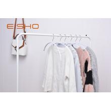 Weißer PVC-beschichteter Kleiderbügel